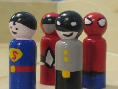 superheld poppetjes