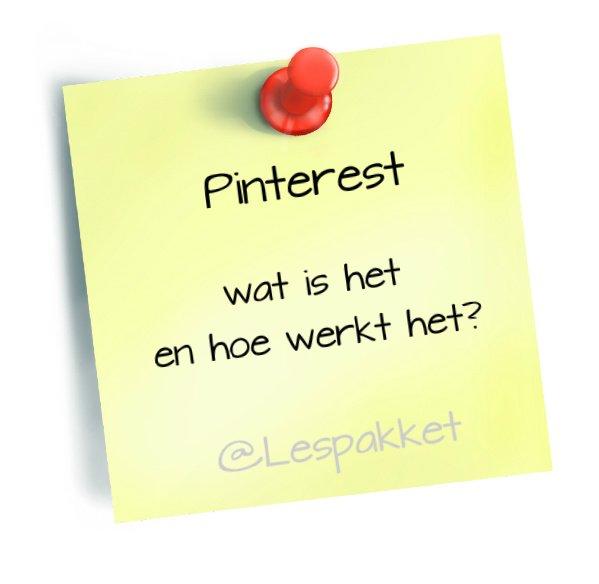 Pinterest: wat is het en hoe werkt het?