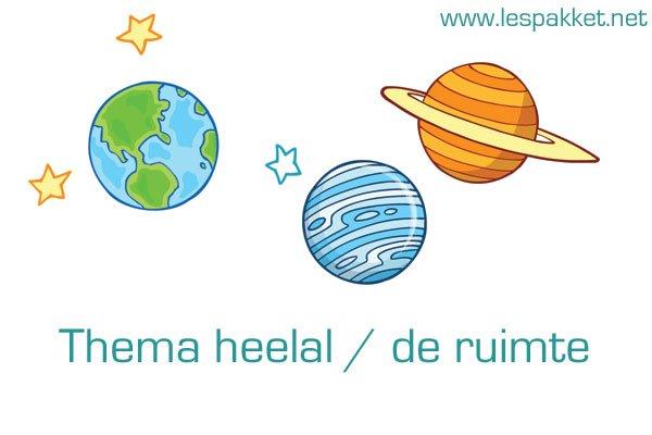 thema heelal - de ruimte - Lespakket