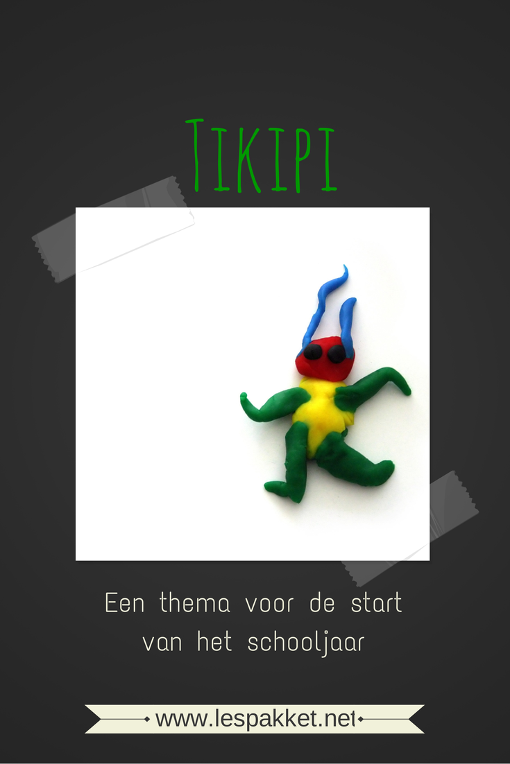 thema Tikipi – start van het schooljaar