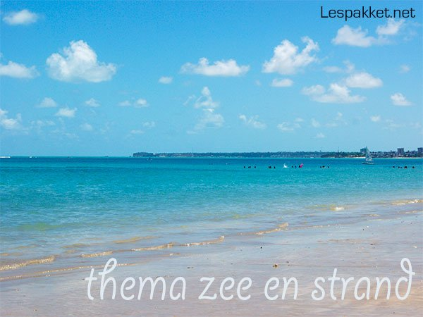 thema zee en strand