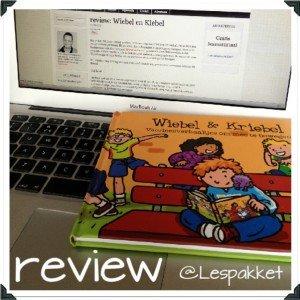 wiebel en kriebel - review en weggevertje - Lespakket