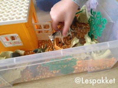 50x vullingen voor de zand-/watertafel - Lespakket