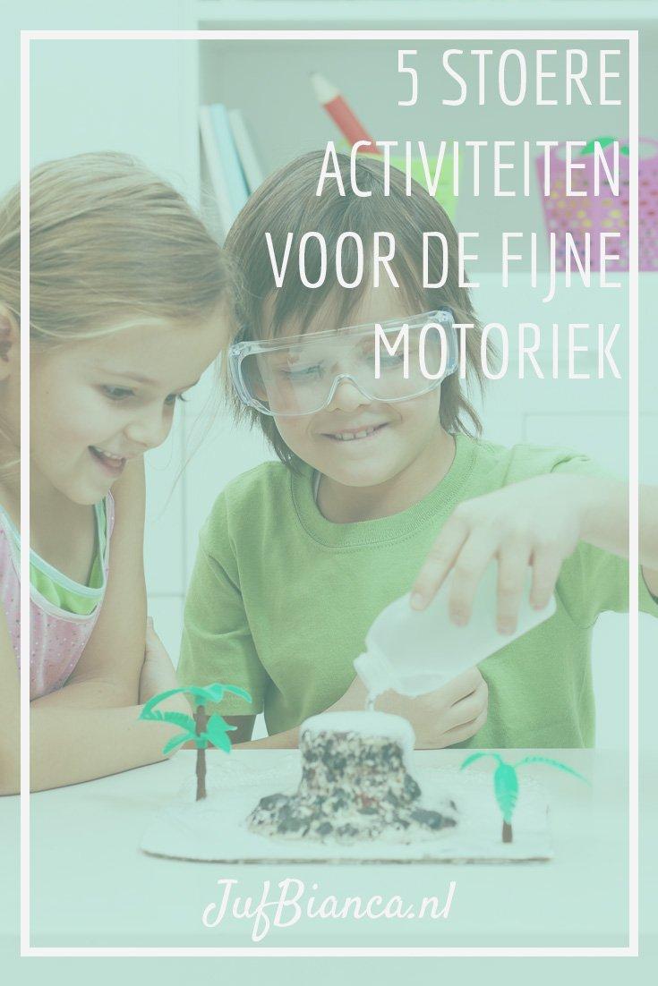 5 stoere activiteiten voor de fijne motoriek van kleuters - Hoe een studio van m te ontwikkelen ...