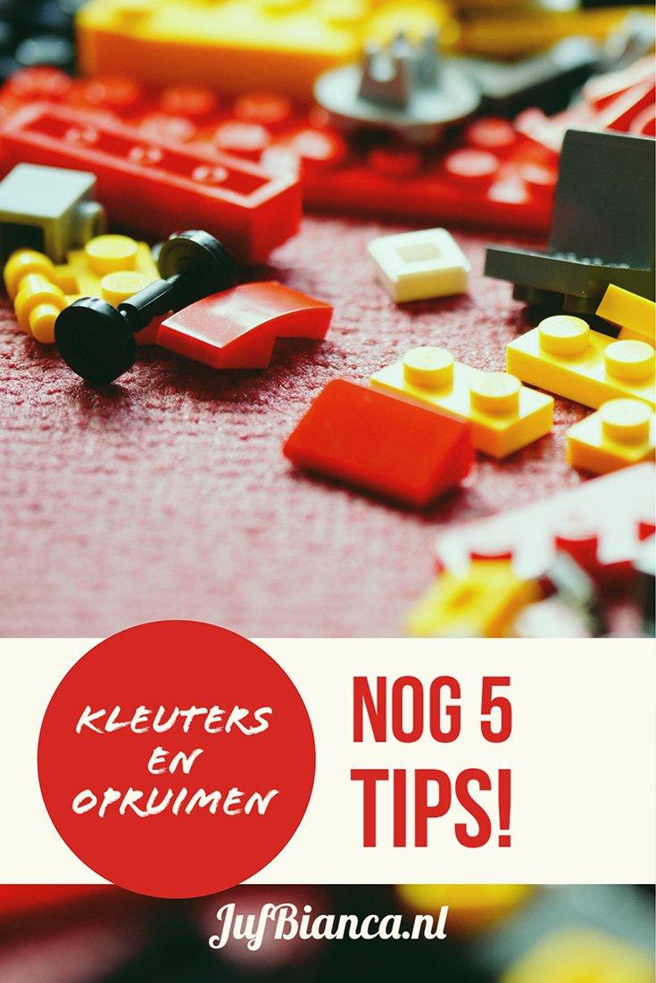 Kleuters en opruimen nog 5 tips for Tips opruimen