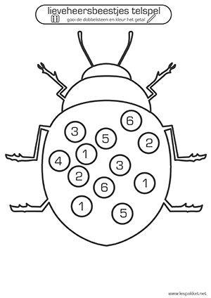 lieveheersbeestjes telspel - Igor Stippelkampioen - Lespakket