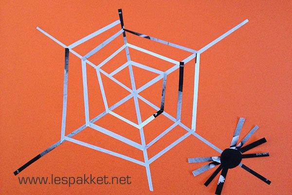 Knutselen Halloween Groep 3.Spinnenweb Knutselen Groep 3 Brekelmansadviesgroep