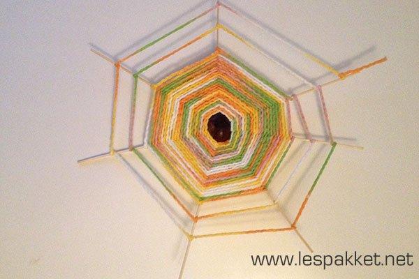 Uitzonderlijk Thema herfst: spinnenweb knutselen | JufBianca.nl #DX43