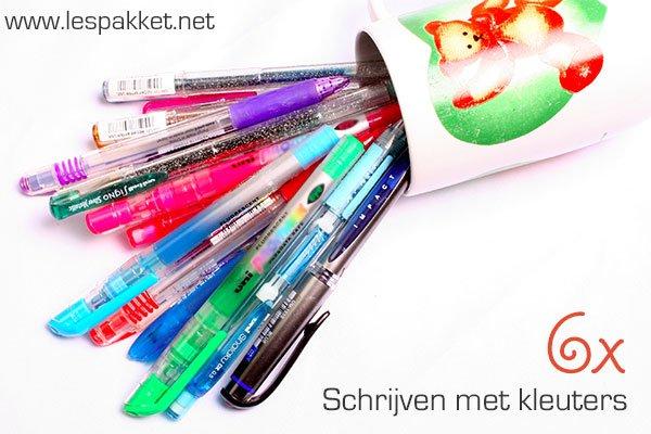 6x schrijven met kleuters - Lespakket