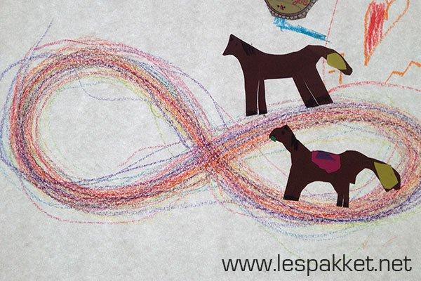 schrijfmotoriek-racebaan (leuk in het kader van de kinderboekenweek!) - Lespakket