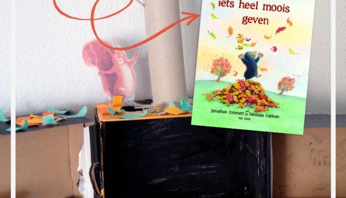 Een verteltafel maken bij een prentenboek