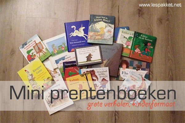 mini prentenboeken - Lespakket