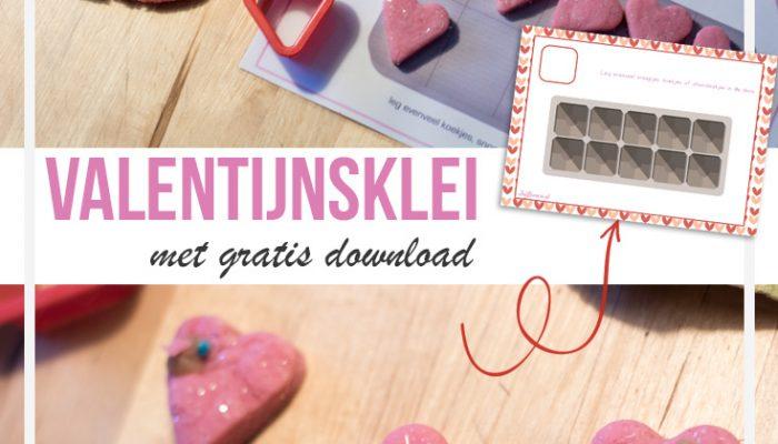 Valentijnsklei - met gratis download - Juf Bianca