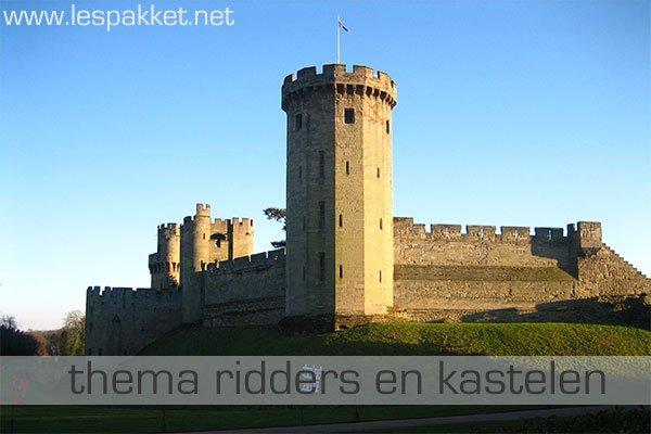 Thema ridders en kastelen for Werkbladen ridders en kastelen