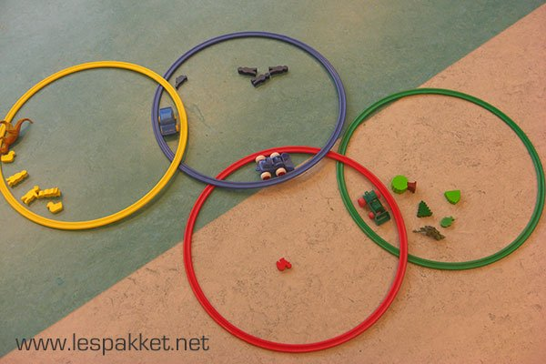 venn diagram - Olympische Spelen - Lespakket