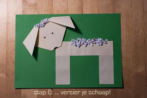 Thema lente - vouw een schaap - Lespakket