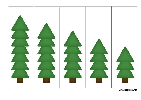Thema Kerst Linkfeestje Meten Met Kerstbomen Jufbianca Nl