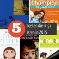 5 boeken die ik ga lezen in 2015 - Lespakket