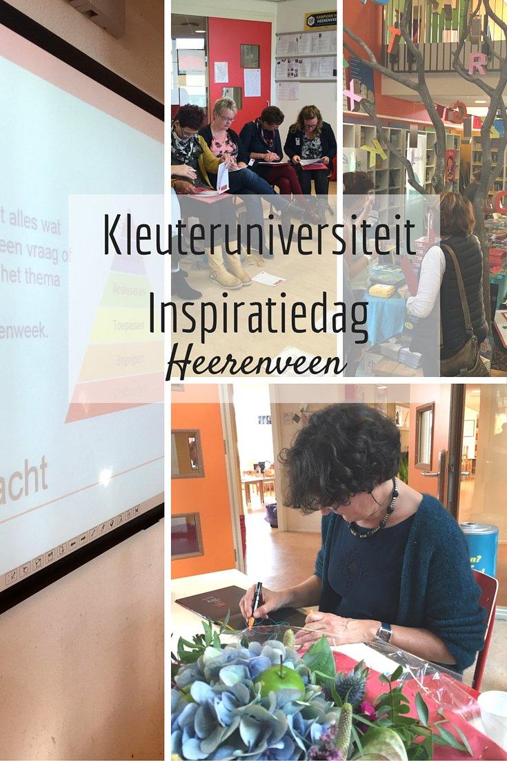 Kleuteruniversiteit Inspiratiedag Heerenveen - workshop slimme kleuters - JufBianca