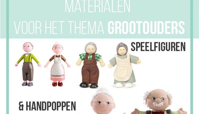 Materialen voor de Kinderboekenweek 2016 – opa en oma