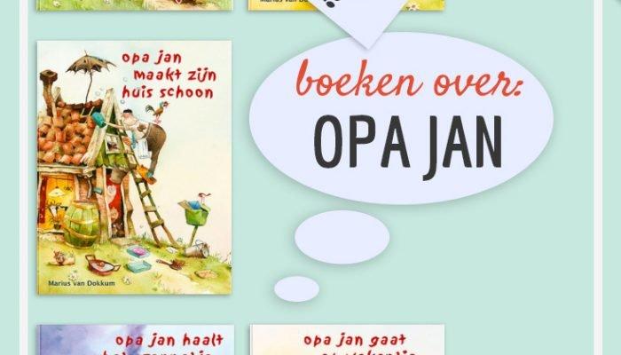 Kinderboekenweek 2016 – boeken over Opa Jan