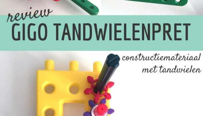 review: tandwielenset van Gigo