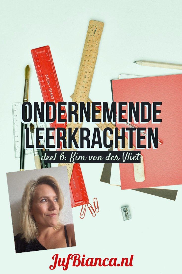 Ondernemende leerkrachten - deel 6 - Kim van der Vliet