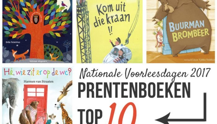 Prentenboeken top 10 – Nationale Voorleesdagen 2017