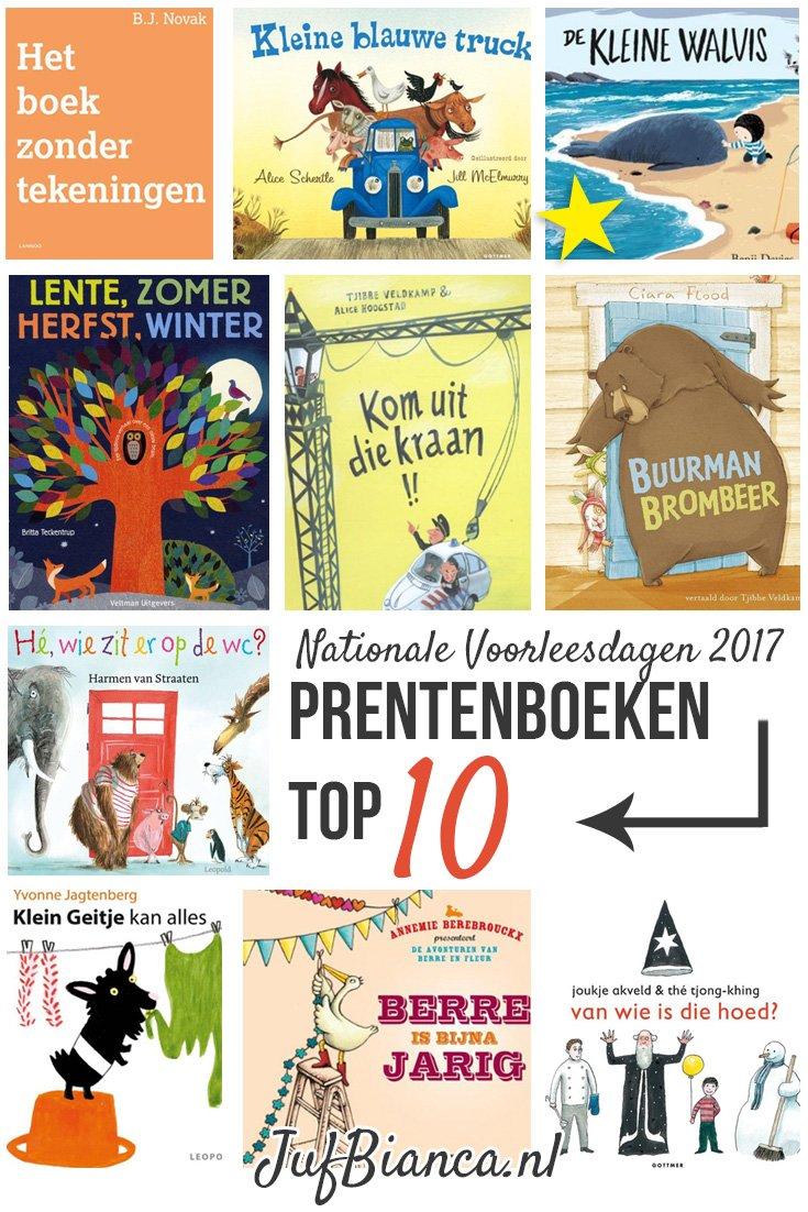 Nationale Voorleesdagen 2017 - Prentenboek tot 10 - Juf Bianca