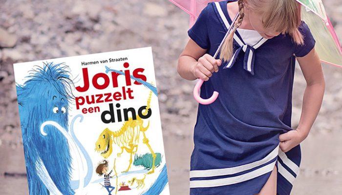 Prentenboeken over mindset – Joris puzzelt een dino