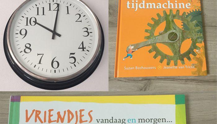 Nog twee prentenboeken over tijd