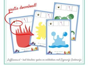 JufBianca - gratis download - monster kleimatten