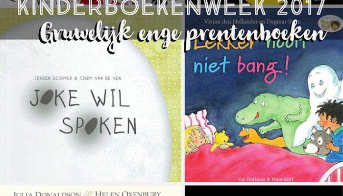Kinderboekenweek 2017: Gruwelijke enge prentenboeken