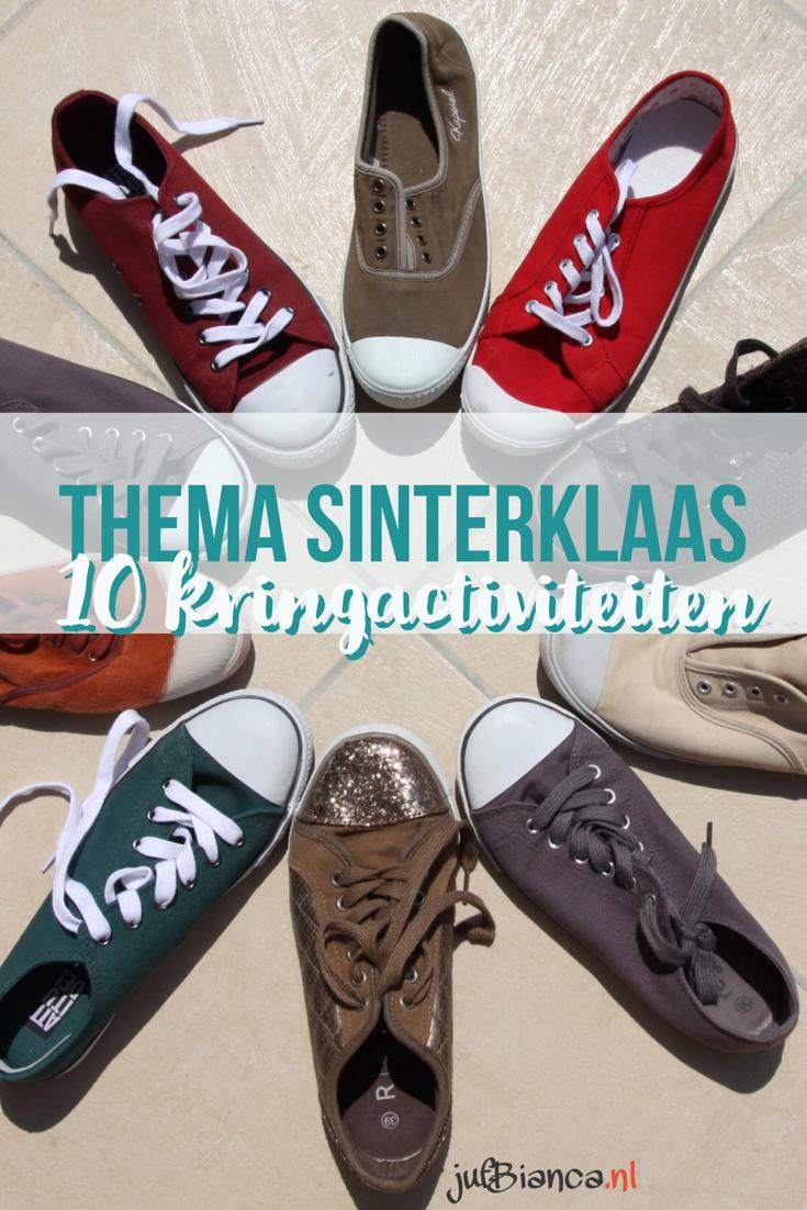 Thema Sinterklaas - 10 kringactiviteiten - Juf Bianca
