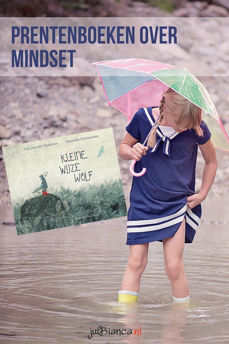 Prentenboeken over mindset - kleine wijze wolf - Juf Bianca