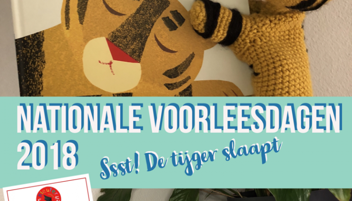 Nationale Voorleesdagen 2018 – Ssst! De tijger slaapt