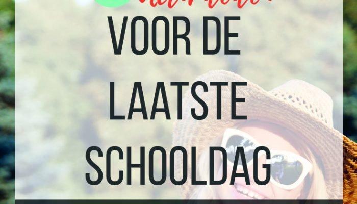 8 Activiteiten voor de laatste schooldag